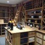 Bespoke Solid Oak Wine Racking Bespoke Wine Cellars Wine Storage Solutions Wine Storage Solutions