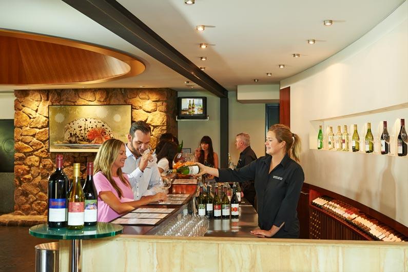 wine tasting at leeuwin cellar door