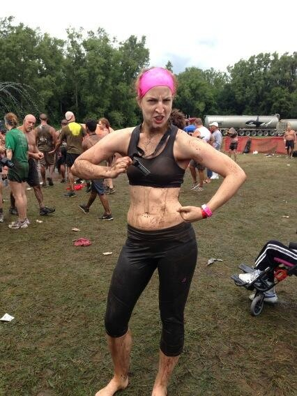warrior dash michigan finisher