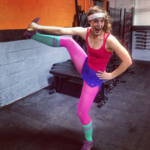 crossfit 80s style 80s fitness