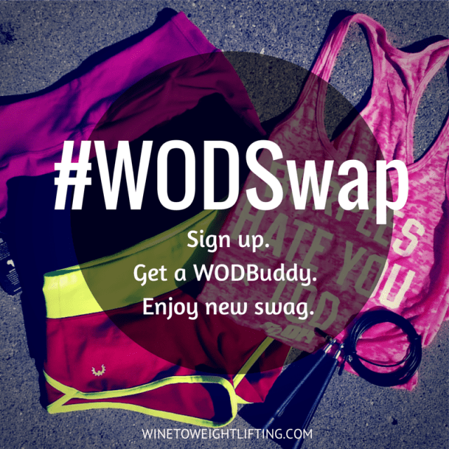 #WODSwap crossfit penpal program