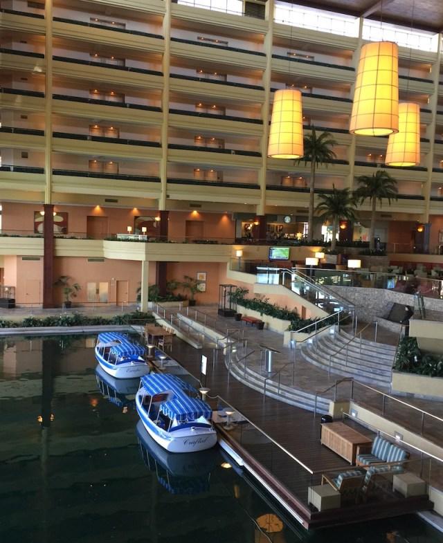 The lobby. Marriott Palm Springs