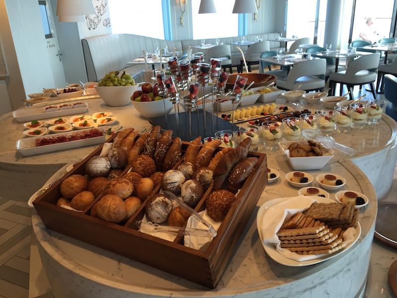 Buffet Lunch on Crystal Esprit