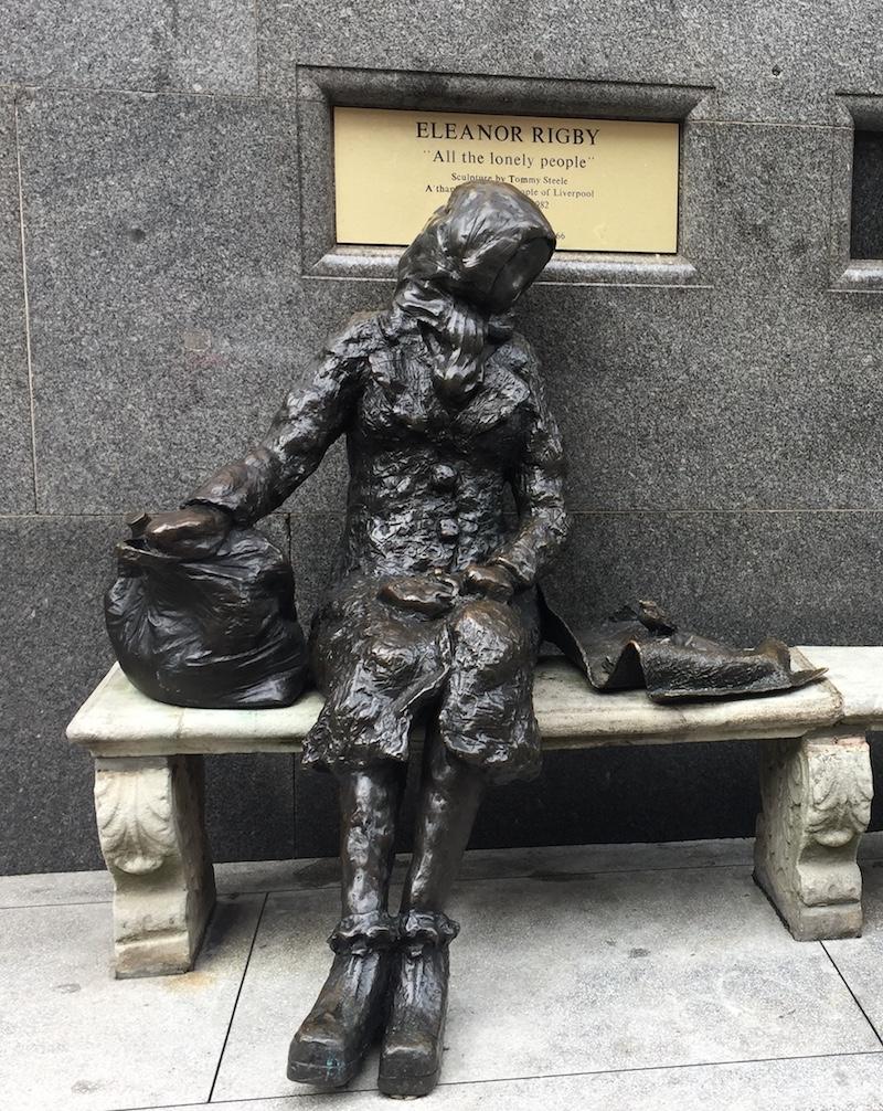 Eleanor Rigby Beatles Statue