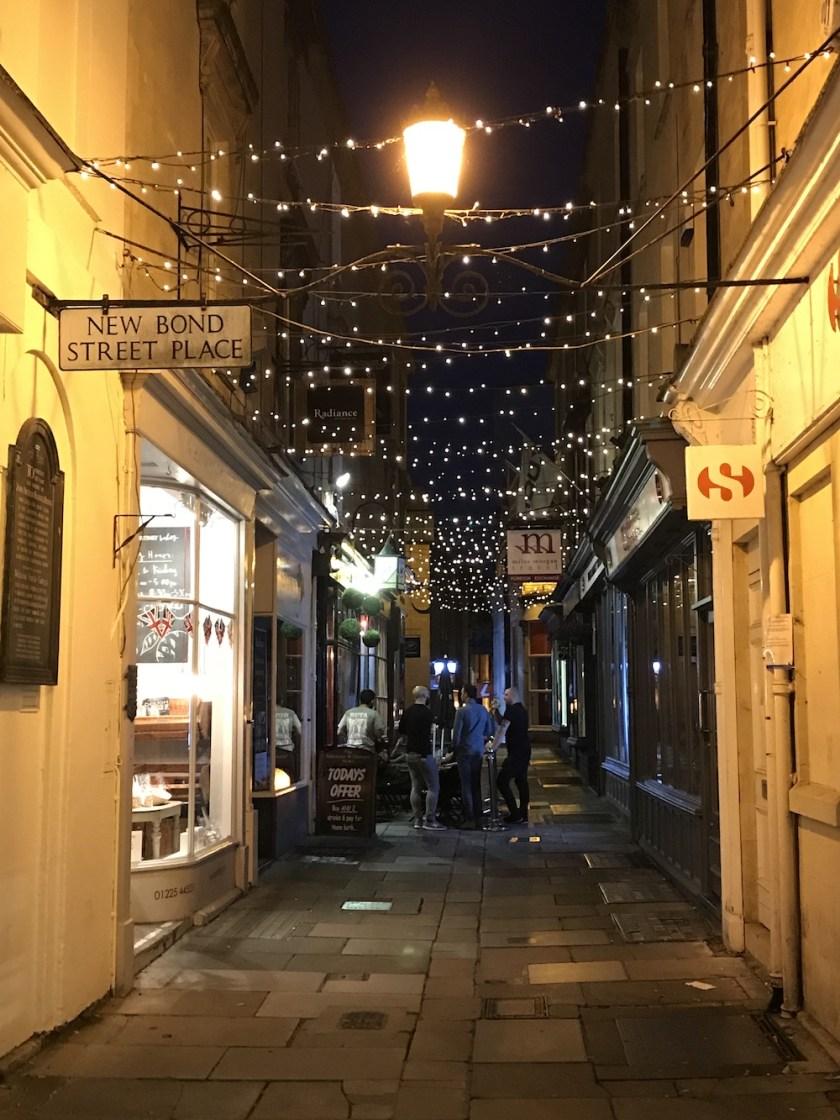 Bath Street at Dusk