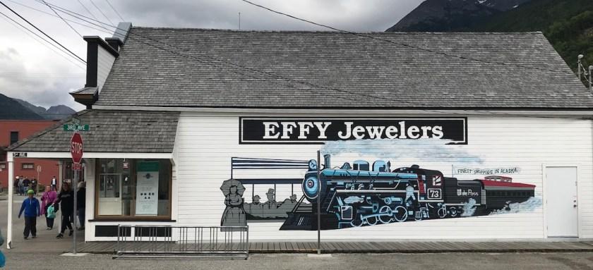 Building Murals Skagway