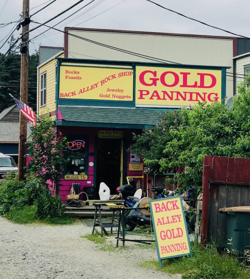 Skagway Gold Panning