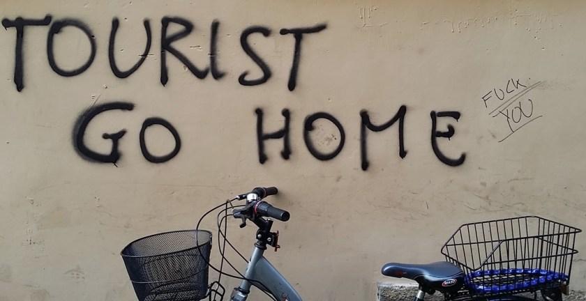 Florence Street Art - Tourist Go Home