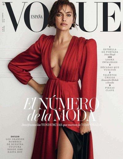 Irina Shyk Vogue Cover