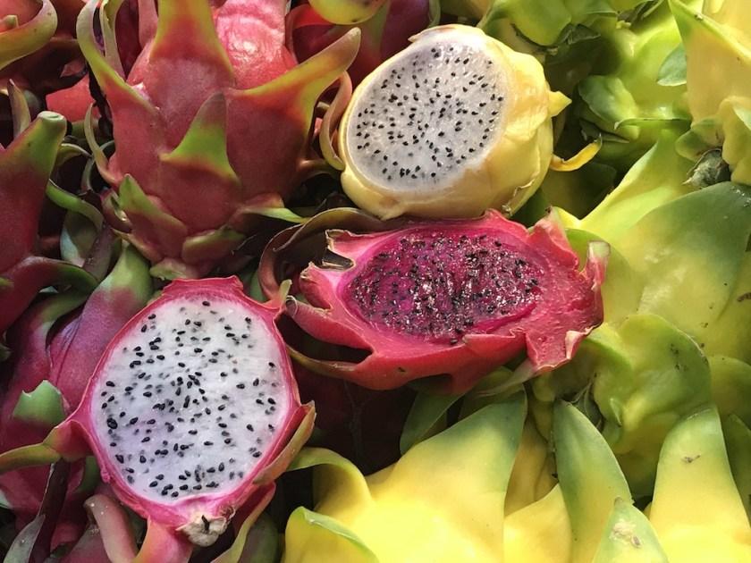 Mahane Yehuda Market Dragon Fruit