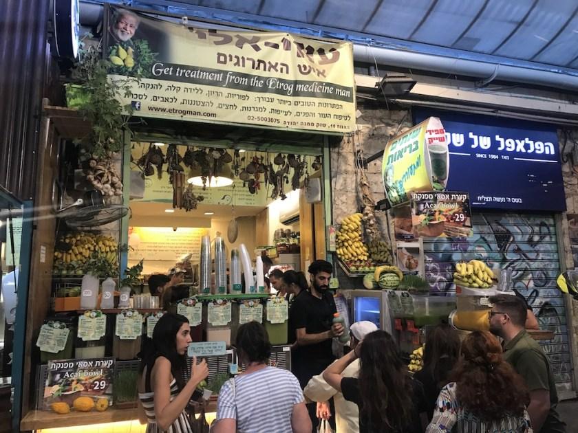 Mahane Yehuda Market Gat Juice