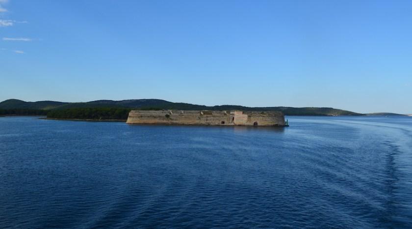 St. Nicholas Fortress Sibernik cruise destination