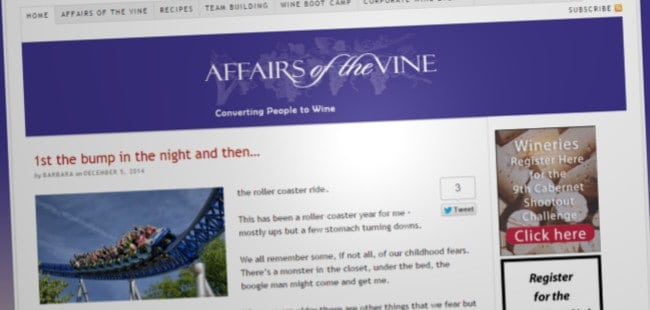 Affairs of the Vine