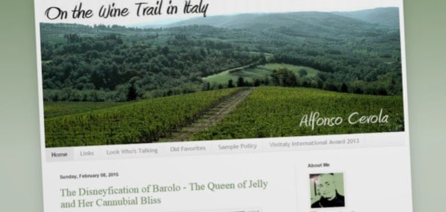 On the Wine Trail in Italy