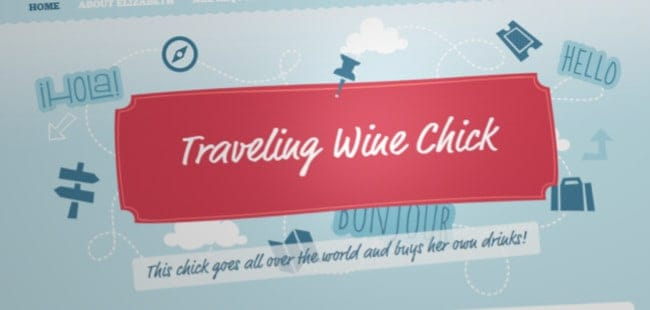 Travelling Wine Chick