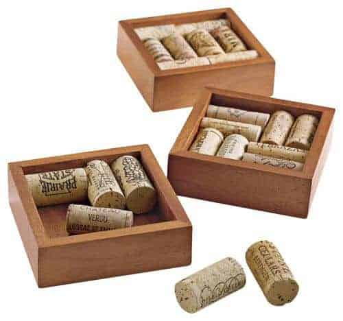 Wine Enthusiast Wine Cork Coasters Kit