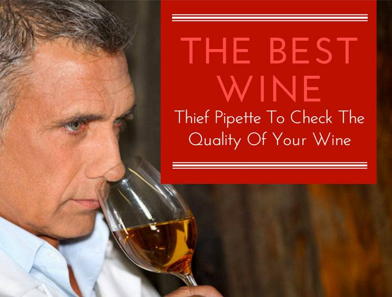 The Best Wine Thief Pipette To Check The Quality Of Your Wine