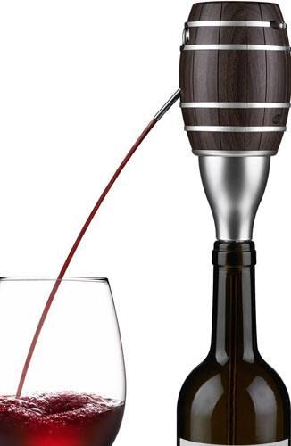Electric Wine Aerator, Wuudi Luxury Wine decanter Pump