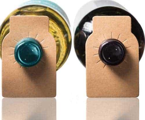Wine Bottle Tags Kraft Paper