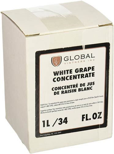 Winexpert White Grape Concentrate