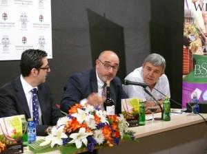 Joaquin Parra, Angel Ramírez y Luis Jiménez