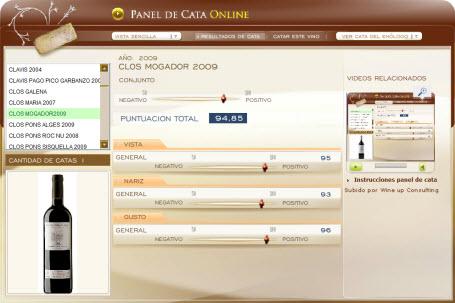 CLOS MOGADOR 2009 - 94.85 PUNTOS EN WWW.ECATAS.COM POR JOAQUIN PARRA WINE UP