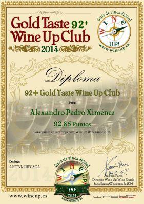 AECOVI JEREZ 106.gold.taste.wine.up.club