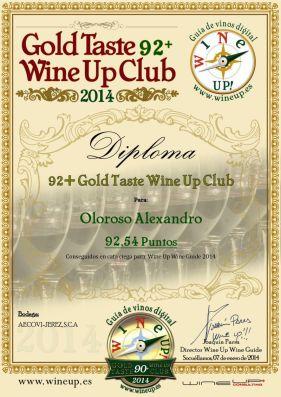 AECOVI JEREZ 129.gold.taste.wine.up.club