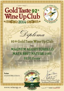 AGUSTI TORELLO BN07 155.gold.taste.wine.up.club