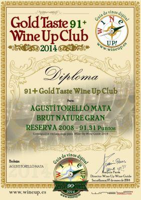 AGUSTI TORELLO BRUT NATURE GR 260.gold.taste.wine.up.club