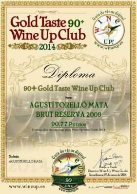AGUSTI TORELLO BRUT RVA 09 337.gold.taste.wine.up.club