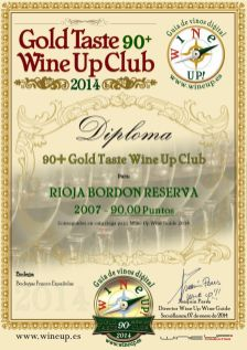 BODEGAS FRANCO ESPAÑOLAS 469.gold.taste.wine.up.club