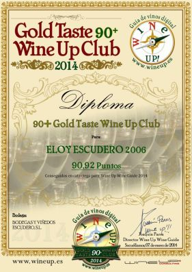 BODEGAS Y VIÑEDOS ESCUDERO 314.gold.taste.wine.up.club