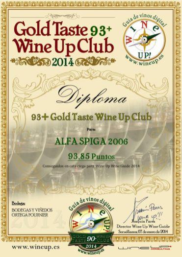 BODEGAS Y VIÑEDOS O FOURNIER 60.gold.taste.wine.up.club