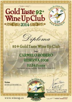 CARMELO RODERO 132.gold.taste.wine.up.club