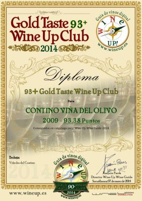 CONTINO VIÑA DEL OLIVO 09 86.gold.taste.wine.up.club