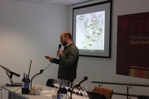 Elías López Montero, enólogo de Bodegas y Viñedos Verum