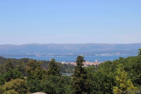 Ría de Arousa, vistas desde Pazo de Rubianes