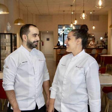Dani y Roseta. Restaurante Fraula