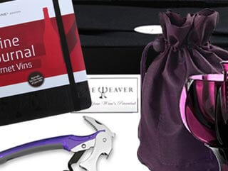 Fathers Day Gift - Purple Wine Aerator Gift Hamper