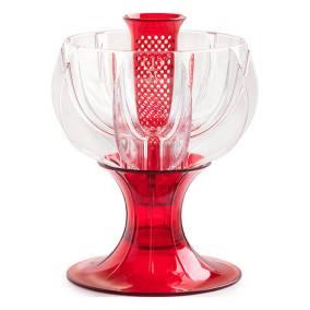 crystalline red wine aerator