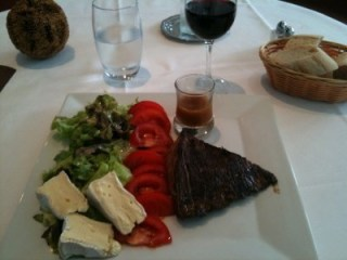 Lunch in Pauillac