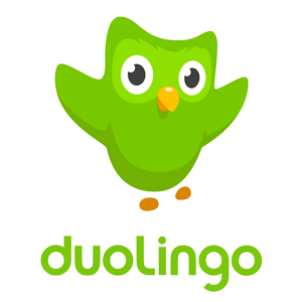 Duolingo logo- Live by the travel commandments and never stop learning.