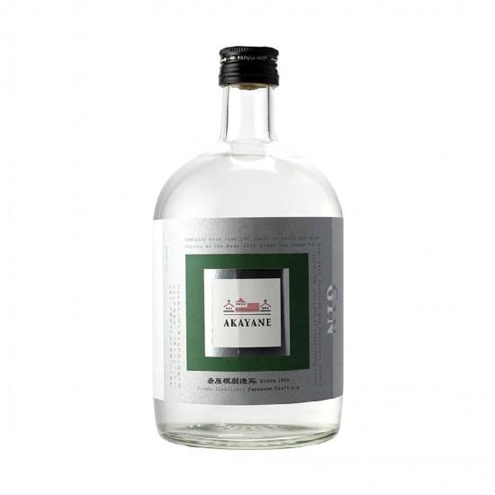 赤屋根 綠茶琴酒