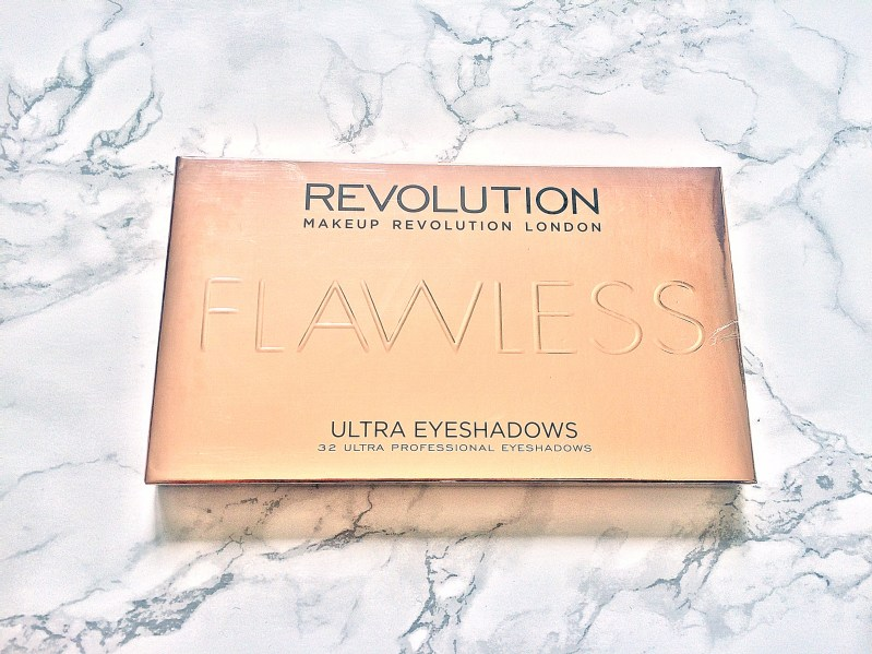 Makeup Revolution flawless eyeshadow palette Giveaway www.wingitwithjade.com