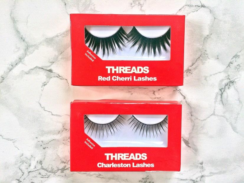 Threads False Eyelashes flatlay2