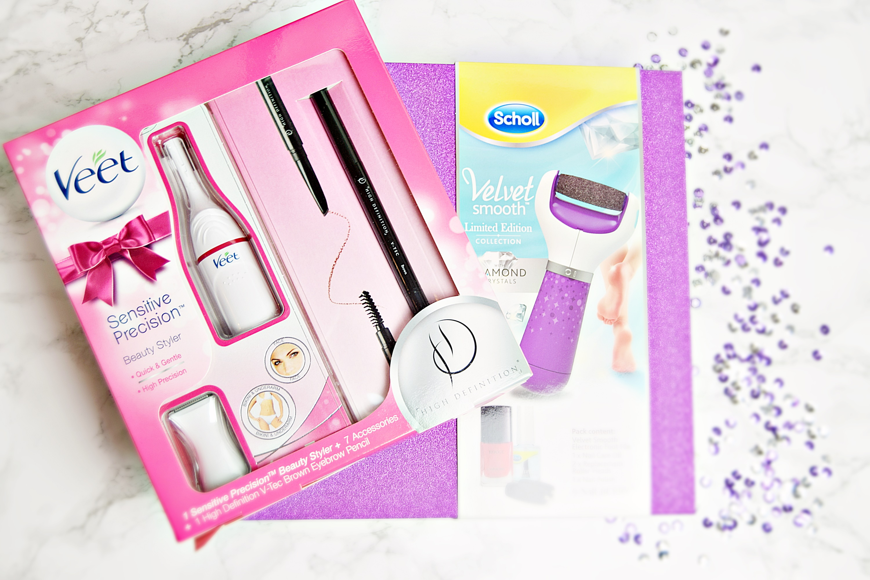 Party Perfect Christmas Gifts from Veet and Scholl & Party Perfect Christmas Gifts from Veet and Scholl u2022