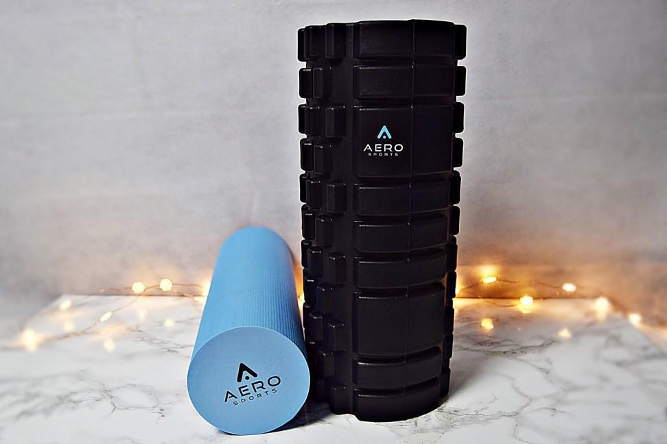 Full Body Workout with Aero sports foam roller www.wingitwithjade
