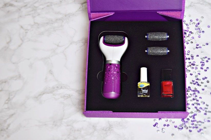 Scholl Velvet Smooth Unboxed 1 - Veet and Scholl party perfect christmas gifts www.wingitwithjade.com