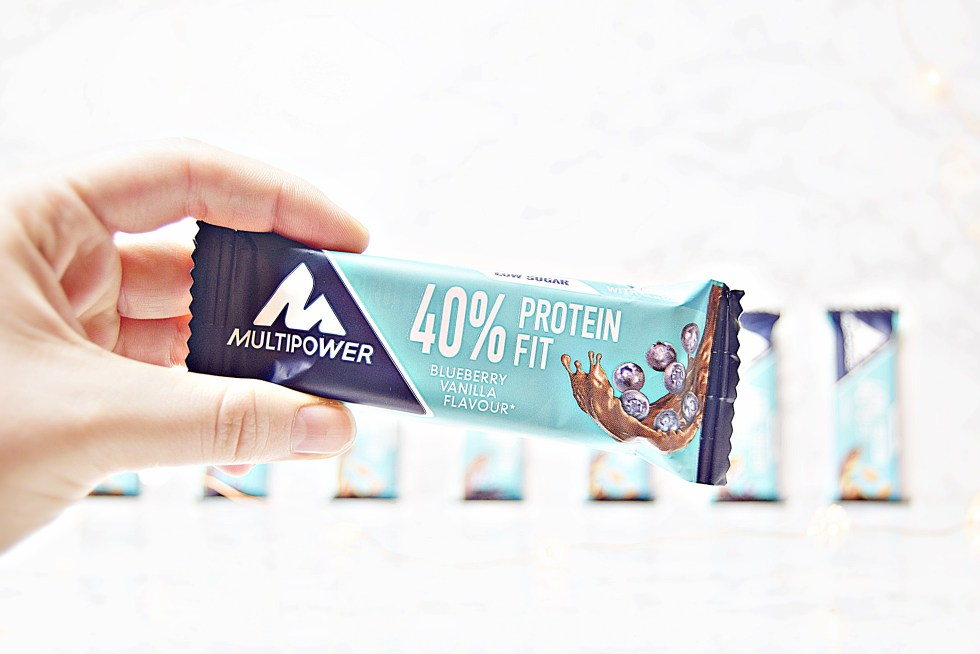 40% Protein Fit - MultiPower Protein Snacks - www.wingitwithjade